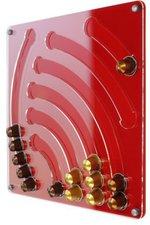 PlexiDisplays Wand-Kapselhalter für Nespresso Wasserfall