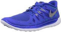 Nike Free 5.0 2014 GS lyon blue/blue lagoon/black/metallic silver