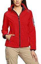 CMP Campagnolo Women Softshell Jacket Zip Hood (3A05396) Lacca-Danubio