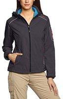 CMP Campagnolo Women Softshell Jacket Zip Hood (3A05396) Caviale