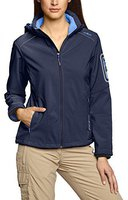 CMP Campagnolo Women Softshell Jacket Zip Hood (3A05396) Navy Persia