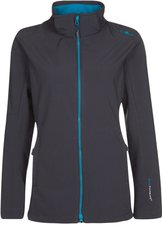 CMP Campagnolo Woman Softshell Jacket Zip Hood (3A22226) Caviale