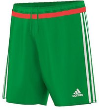 Adidas Campeon 15 Shorts green/bright red/off white