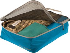 Summit Outdoor Garment Mesh Bag M blue/grey