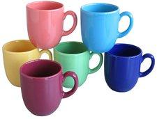 CreaTable Steingutserie Kaffeebecher 6er Set
