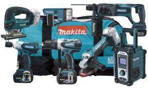Makita DLX7000-X4 Combo Kit