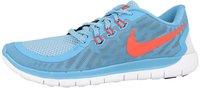 Nike Free 5.0 2015 GS lakeside/blue lagoon/pure platinum/bright crimson