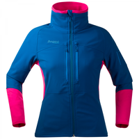 Bergans Visbretind Lady Jacket Deep Sea / Hot Pink / Light Sea Blue