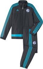 Adidas Kinder FC Schalke 04 Präsentationsanzug 2015/2016