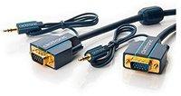 Clicktronic® Casual VGA und Audio-Verbindungskabel