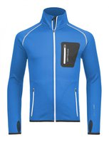 Ortovox Merino Fleece Jacket M Blue Ocean