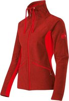 Mammut Niva Midlayer Jacket Women Poppy Melange