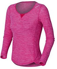 Odlo Revolution Light Long Sleeve Crew Neck Women lollipop melange