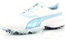 Puma BioPro Wmns white/omphalodes/medieval blue