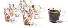 Leonardo Loop Espressotasse mit Print 6er Set