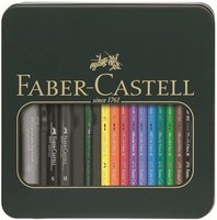 Faber-Castell Albrecht Dürer Aquarellstift + PITT artist pen Metalletui