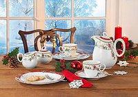 Seltmann Weiden Tafelservice 12 tlg. Trio Weihnachten