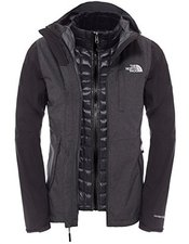 The North Face Damen Thermoball Triclimate Jacke TNF Black Heather/ TNF Black