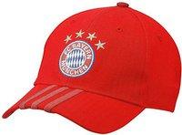 Adidas FC Bayern München 3 Streifen Kappe rot
