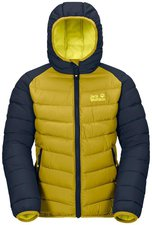 Jack Wolfskin Kids Zenon Jacket Yellow Green