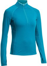 Icebreaker Zone Long Sleeve Half Zip Women alpine / aquamarine