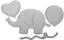 Rayher Stanzschablonen-Set Baby Elephant