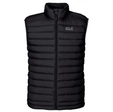 Jack Wolfskin Helium Down Vest Men Black