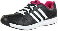 Adidas Women's Essential Star II core black/white/bold pink
