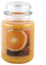Village Candle Orange Cinnamon Jar (1219g)