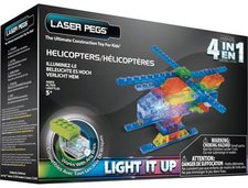 Laser Pegs Helicopters 4 in 1