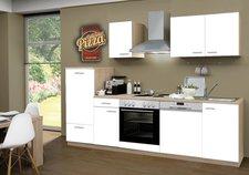 Menke Küchenblock 270cm Eiche Sonoma weiß (1545-102-03-270-062)