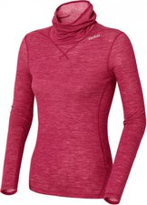 Odlo Revolution TW Warm Shirt L/S Turtle Neck Women cerise melange