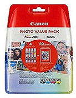 Canon CLI-521 Multipack 4-farbig (2933B011)