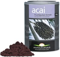 Amazonas Naturprodukte Acai 100% natürlich Pulver (100 g)