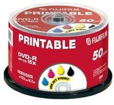 Fuji Magnetics DVD-R 4,7GB 120min 16x bedruckbar 50er Spindel