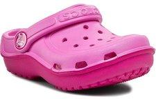 Crocs Kids Duet Wave Clog party pink/candy pink