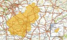 Satmap Rheinland-Pfalz & Saarland 1:25k & 1:50k
