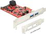 DeLock PCIe SATA III USB 3.0 (89389)