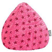Magma Heimtex BeanBag Fluffy Stars XL pink (34751052)