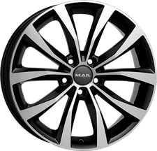 MAK Wheels Wolf black mirror (8x18)