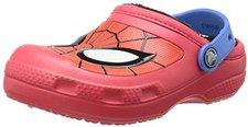 Crocs Kids Creative Crocs Spiderman Fuzz Lined Clog red
