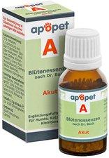 Orthim Apopet A Akut Blütenessenzen n.Dr.Bach Globuli (12 g)