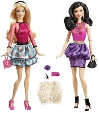 Barbie Stylin Friends Barbie & Raquelle