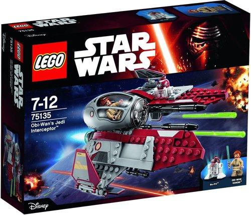 LEGO Star Wars Obi-Wans Jedi Interceptor (75135)
