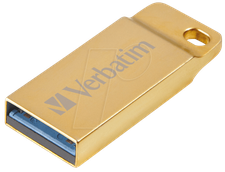 Verbatim Metal Executive 32GB gold