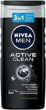 NIVEA FOR MEN Active Clean Pflegedusche (250ml)