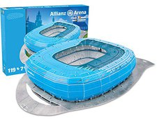 Preziosi 3D Allianz Arena München Blau