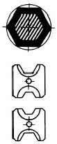 Weidmüller Crimpwerkzeug Einsatz MTR110 10+70HEX (9018100000)