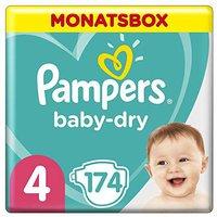 Pampers Baby Dry Maxi Größe 4 (7-18 kg) 174 Stück