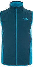 The North Face Men's Stretch The Trail Gilet Depth Green/Enamel Blue